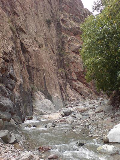 Fluss in Marokko