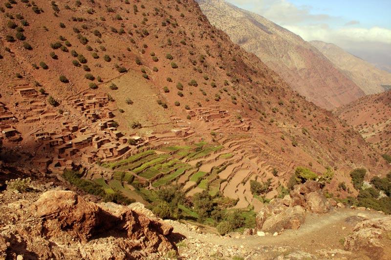 Das Dord Iabassene im Hohen Atlas