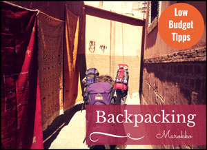 Backpacking in Marokko