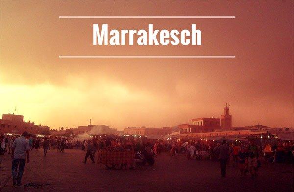 Cityguide Marrakesch