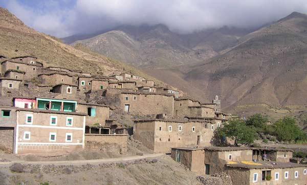 Tacheddirt Hoher Altas Marokko