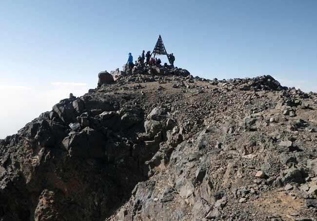 Toubkal Gipfel Marokko