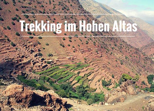 Trekking im Hohen Atlas