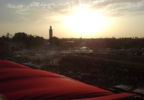 djemaa el fna morocco marrakech