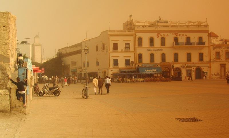 Hassan-Platz in Essaouira