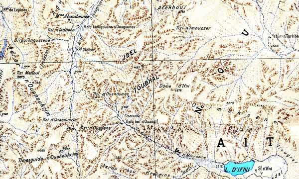 morocco toubkal map