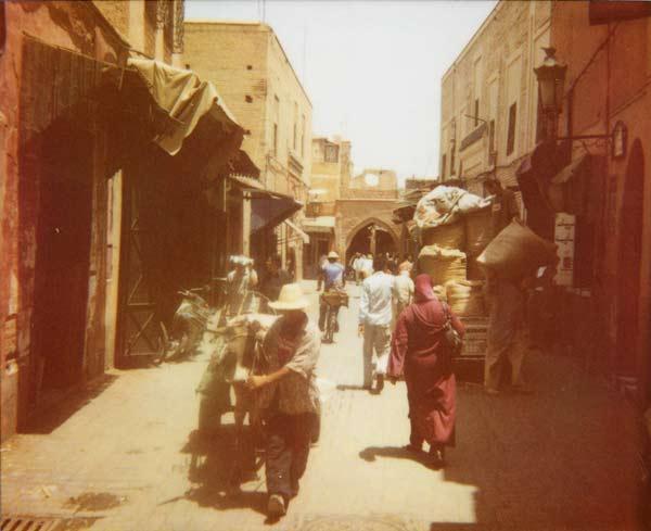 marokko polaroid