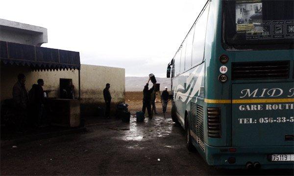 morocco bus