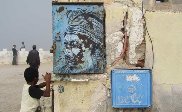 graffiti marokko essaouira streetart