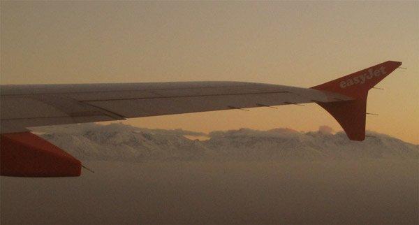 Billigflug Easyjet über Marokko