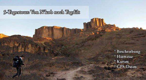 Trekking-Touren Djebel Saghro (Marokko)