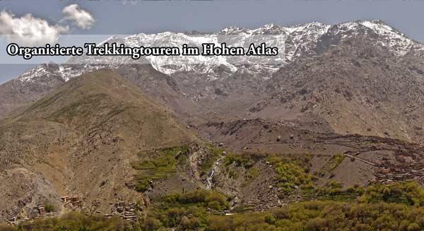 organisierte trekkingtouren im hohen atlas