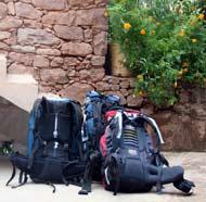 marokko trekking rucksack