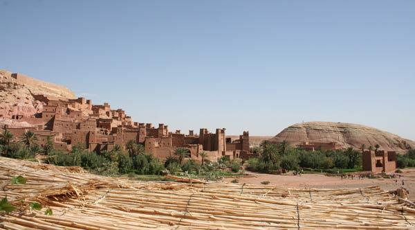 Blick auf das UNESCO-Weltkulturerbe Ait Benhaddou