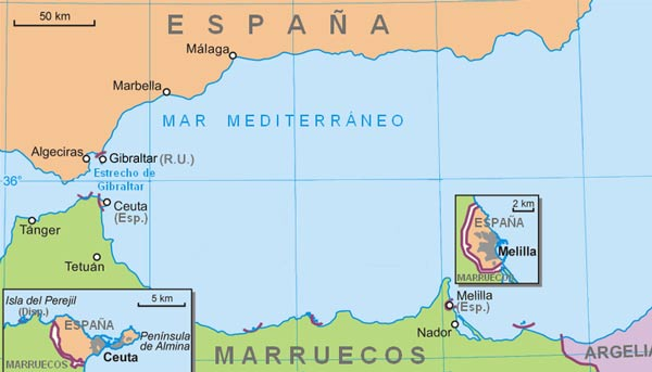 Melilla Marokko