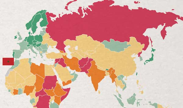 Global Peace Index Morocco