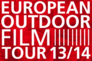 Logo des Filmfestivals European Outdoor Film Tour