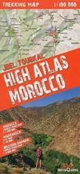 Cover der Toubkalkarte von terraQuest