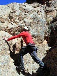 Marokko Icebreaker Oasis klettern