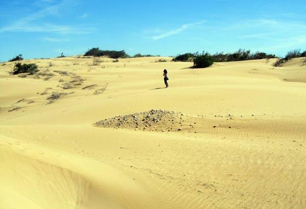 Foto in der Wüste in Marokko