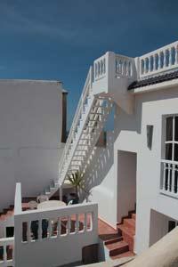 Dachterrasse eines Riads in Essaouira