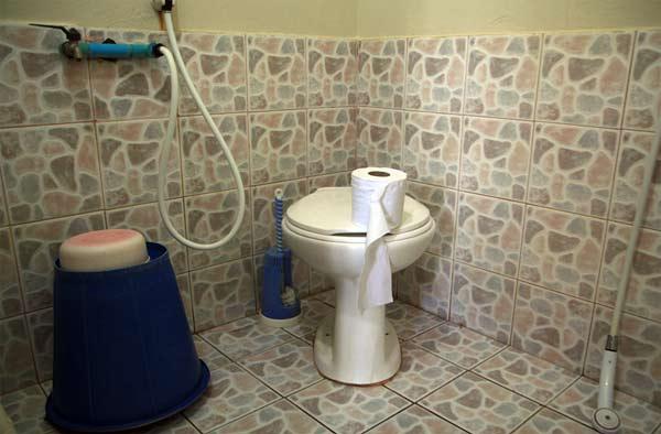 Durchfall Toilette