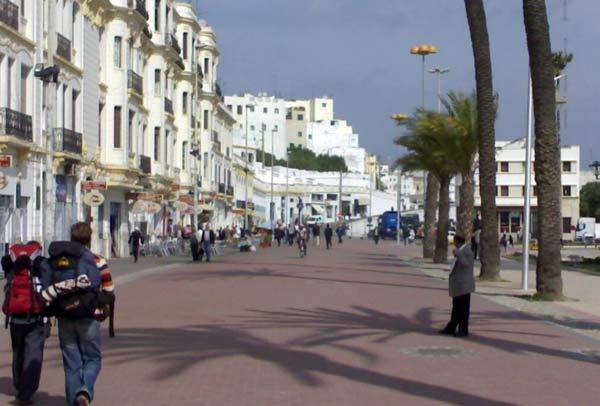 Backpacking in Tanger, Marokko