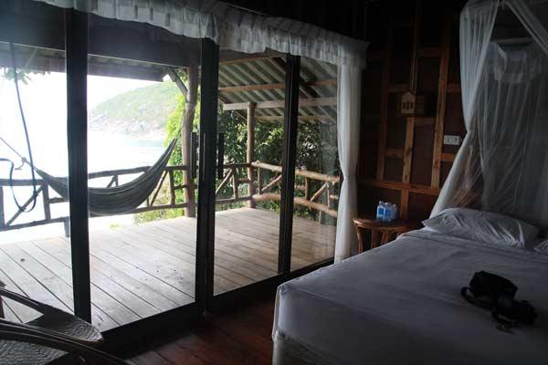 thailand bungalow hängematte