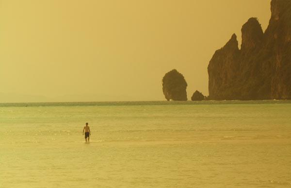 Foto der Bucht auf Ko Phi Phi