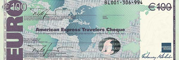 Traveler Cheque