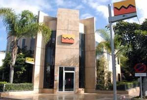 Bankfiliale in Marokko