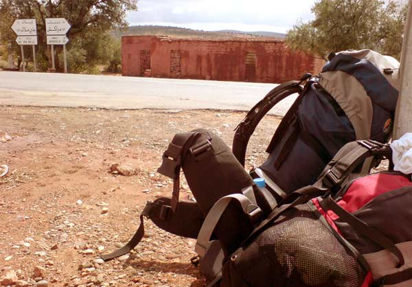 Backpackung in Marokko