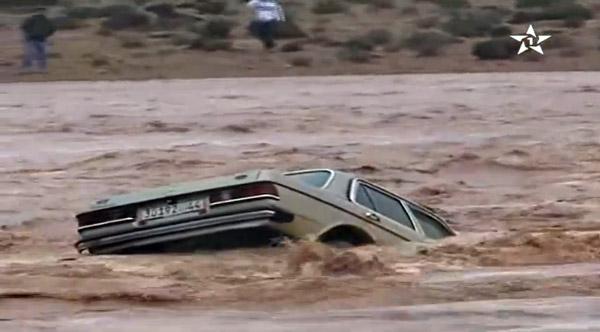 Naturkatastrophe Überschwemmung in Marokko