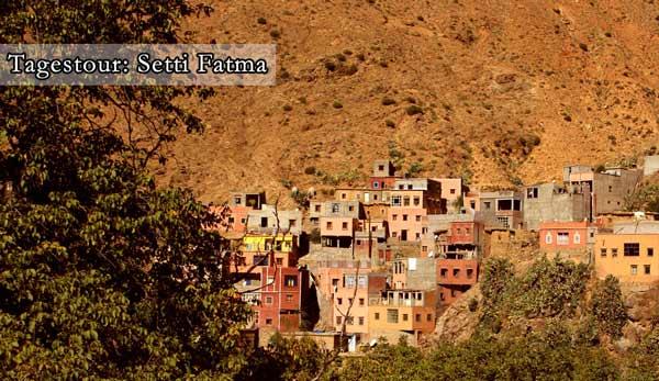 Tagestour Wasserfälle Setti Fatma