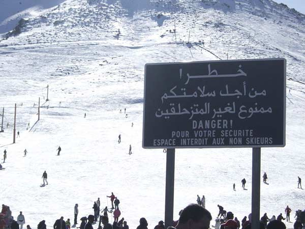 oukaimeden ski marokko winter