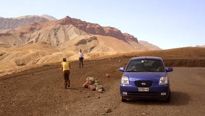 Mit dem Mietwagen im Hohen Atlas in Marokko