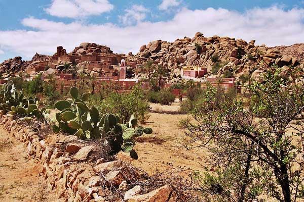 Tafraoute Antiatlas Marokko
