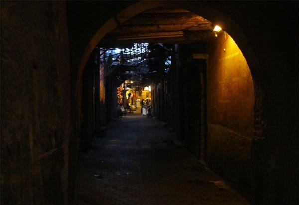 medina marrakesch nachts