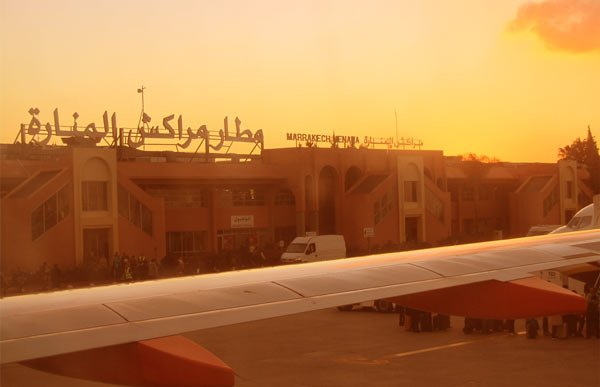 flughafen marrakesch menara