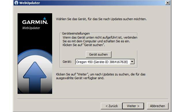 garmin firmware webupdate
