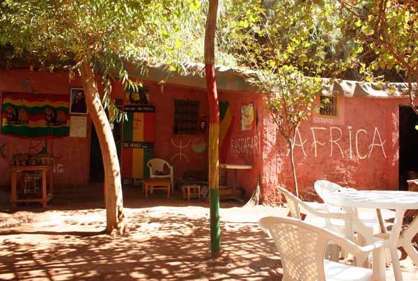 ouzoud marokko -reggae cafes