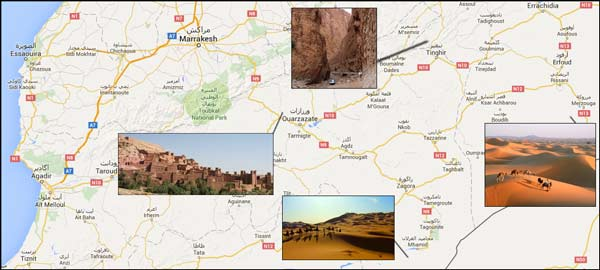 ausflug wueste sahara marokko