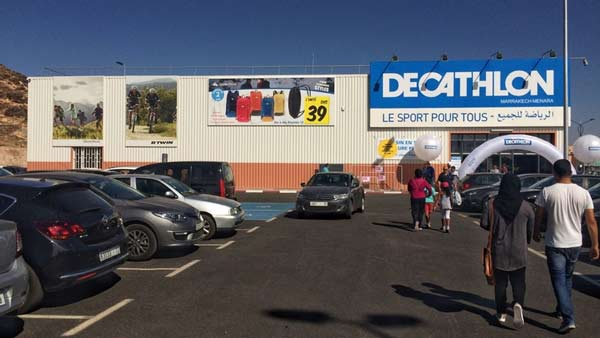 decathlon marrakesch by running in morocco