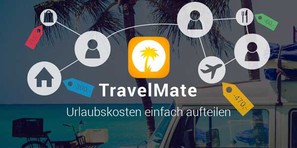 TravelMate app reisekosten