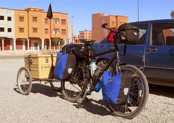 fahrradtour in marokko