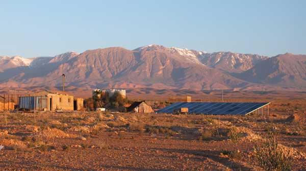 NIBRAS Projekt Marokko Steppenwolf