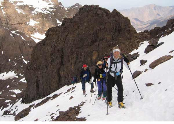 DAV Summit Club Skitour am Djebel Toubkal in Marokko