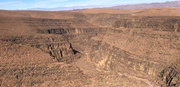 Anti-Atlas bei Ouarzazate