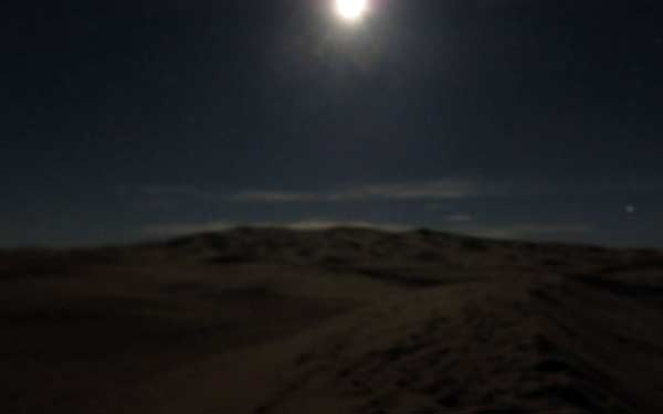 Wüste Merzouga bei Nacht