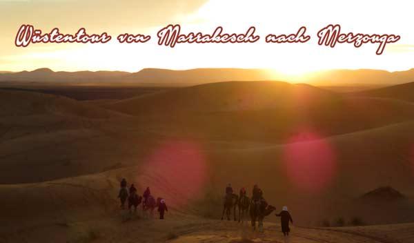 Wüstensafari von Marrakesch nach Merzouga